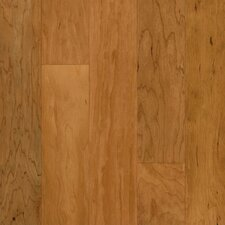 "Performance Plus 5"" Acrylic-Infused Engineered Cherry Flooring in Sugared Honey"