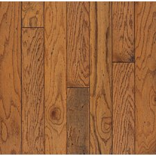 "Baltic Plank 5"" Engineered Red Oak Flooring in Honey"