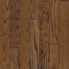 "Baltic Plank 5"" Engineered Red Oak Flooring in Antique"