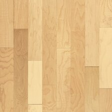 "Natural Choice Strip 2-1/4"" Solid Light Maple Flooring in Natural"