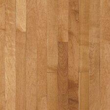 """Kennedale Prestige Plank 3-1/4"""" Solid Light Maple Flooring in Caramel"""