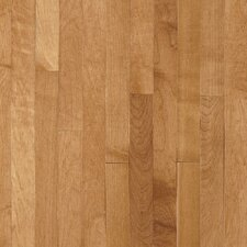 "Kennedale Strip 2-1/4"" Solid Light Maple Flooring in Caramel"