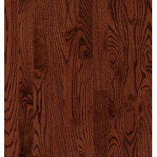SAMPLE - Manchester Strip Solid Red Oak in Cherry