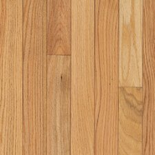"Dundee Strip 2-1/4"" Solid Red Oak Flooring in Natural"