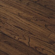 "Northshore Plank 7"" Engineered Red Oak Flooring in Vintage Brown"