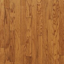 "Turlington Plank 5"" Engineered Red Oak Flooring in Butterscotch"