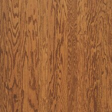 "Turlington Plank 3"" Engineered Red Oak Flooring in Gunstock"