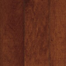 "Kennedale Prestige Plank 3-1/4"" Solid Maple Flooring in Cherry"