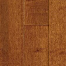 "<strong>Bruce Flooring</strong> Natural Choice Strip 2-1/4"" Solid Light / Dark Maple Flooring in Cinnamon"