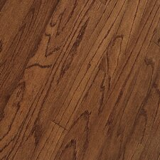 "<strong>Bruce Flooring</strong> Northshore Strip 2-1/4"" Engineered Red Oak Flooring in Saddle"