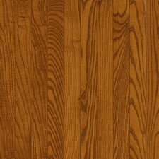 "Dundee Wide Plank 4"" Solid Red Oak Flooring in Gunstock"