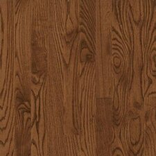 "Dundee Wide Plank 4"" Solid Red Oak Flooring in Saddle"