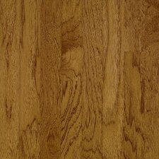 "American Treasures Wide Plank 4"" Solid Hickory Flooring in Oxford Brown"