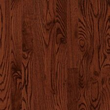 "Dundee Wide Plank 4"" Solid Red Oak Flooring in Cherry"