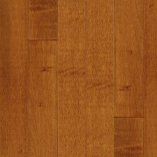 "Kennedale Prestige Wide Plank 5"" Solid Maple Flooring in Cinnamon"
