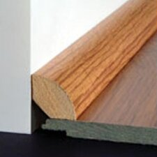 Laminate Quarter Round Micro-Bevel Trim in Merbau Natural, Brazilian Cherry Select
