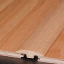 "0.94"" x 1.81"" Red Oak Base / Shoe in Ivory White"
