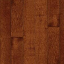 "Kennedale Prestige Wide Plank 5"" Solid Maple Flooring in Cherry"