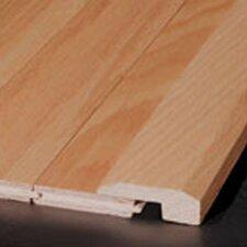 "0.62"" x 2"" Red Oak Threshold in Ivory White"