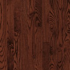"Bristol 2-1/4"" Solid Red / White Oak Flooring in Cherry"