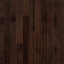 "American Treasures Plank 3-1/4"" Solid Hickory Flooring in Frontier Shadow"