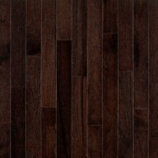 "American Treasures Strip 2-1/4"" Solid Hickory Flooring in Frontier Shadow"