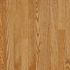"Dundee Plank 3-1/4"" Solid White Oak Flooring in Spice"