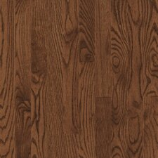 "Bristol 3-1/4"" Solid Red / White Oak Flooring in Saddle"