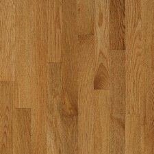 "Natural Choice Strip Low Gloss 2-1/4"" Solid White Oak Flooring in Desert Natural"