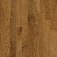 """Natural Choice Strip Low Gloss 2-1/4"""" Solid White Oak Flooring in Spice"""