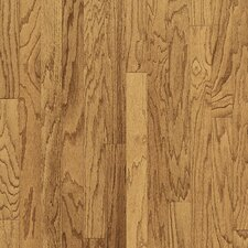 "Turlington Plank 3"" Engineered Red Oak Flooring in Harvest"