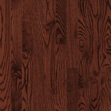 "Natural Choice Strip 2-1/4"" Solid Light / Dark Ash Flooring in Cherry"