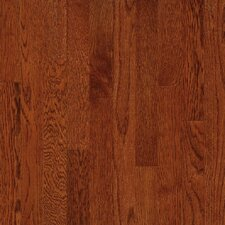 "Natural Choice Strip Low Gloss 2-1/4"" Solid White Oak Flooring in Amber"