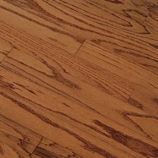 "<strong>Bruce Flooring</strong> Summerside Strip 2-1/4"" Engineered Red Oak Flooring in Gunstock"
