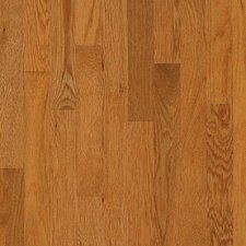 "Westchester Strip 2-1/4"" Solid White Oak Flooring in Butter Rum"