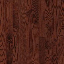 "Westchester Strip 2-1/4"" Solid White Oak Flooring in Cherry"