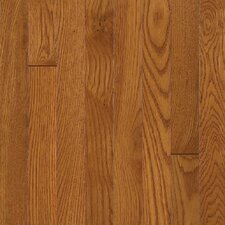 "Waltham Strip 2-1/4"" Solid White Oak Flooring in Brass"