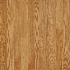 "Dundee Strip 2-1/4"" Solid White Oak Flooring in Spice"