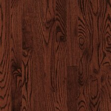 "Dundee Strip 2-1/4"" Solid Red / White Oak Flooring in Cherry"