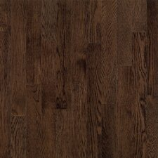 "Dundee Plank 3-1/4"" Solid White Oak Flooring in Mocha"
