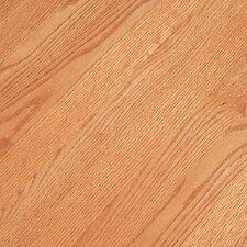 """Fulton Low Gloss Strip 2-1/4"""" Solid Red Oak Flooring in Butterscotch"""