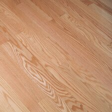 "Fulton Low Gloss Strip 2-1/4"" Solid Red Oak Flooring in Natural"