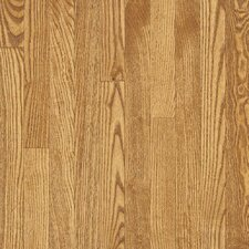 "<strong>Bruce Flooring</strong> Dundee Strip 2-1/4"" Solid White Oak Flooring in Seashell"