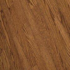 """Fulton Plank 3-1/4"""" Solid Red / White Oak Flooring in Gunstock"""