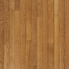"<strong>Bruce Flooring</strong> Fulton Low Gloss Strip 2-1/4"" Solid White Oak Flooring in Fawn"