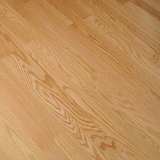 "Fulton Plank 3-1/4"" Solid Red Oak Flooring in Natural"
