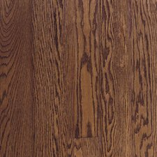 "Fulton Plank 3-1/4"" Solid Red / White Oak Flooring in Saddle"