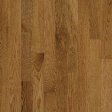 "Natural Choice Strip 2-1/4"" Solid White Oak Flooring in Spice"