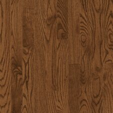 "Manchester Strip 2-1/4"" Solid Red Oak Flooring in Saddle"
