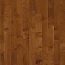 "Kennedale Prestige Plank 3-1/4"" Solid Dark Maple Flooring in Sumatra"